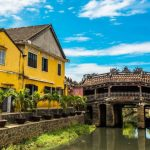 Japanese Covered Bridge in hoi an vietnam