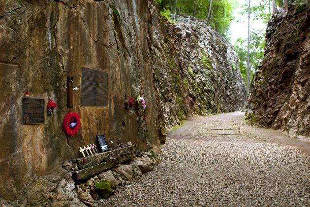 War Cemetery of World War II in Kanchanaburi