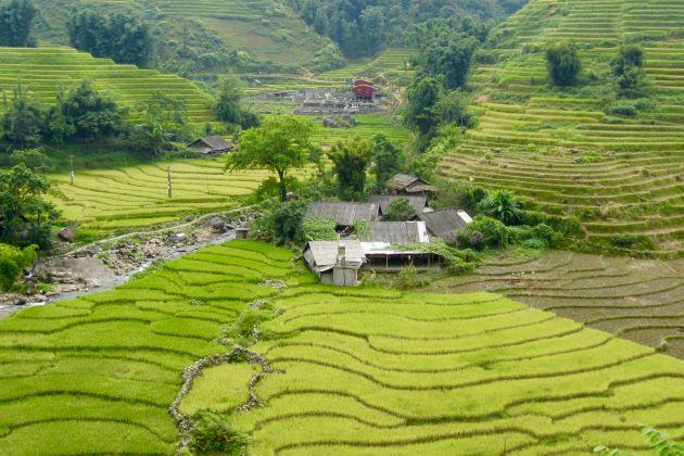 giang ta chai village in sapa north vietnam