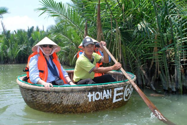 hoi an eco basket boat tour