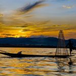 inle lake in heho myanmar