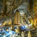 paradise cave in quang binh vietnam