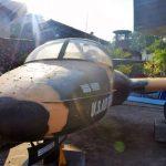 plane in saigon war remnant museum