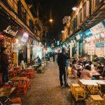 ta hien beer street in vietnam