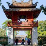 the temple of literature in hanoi vietnam