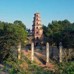 thien mu pagoda panoramic view