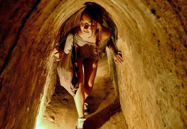tunnels of cu chi in vietnam