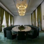 visit inside reunification palace in ho chi minh city