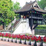 visit one pillar pagoda in hanoi