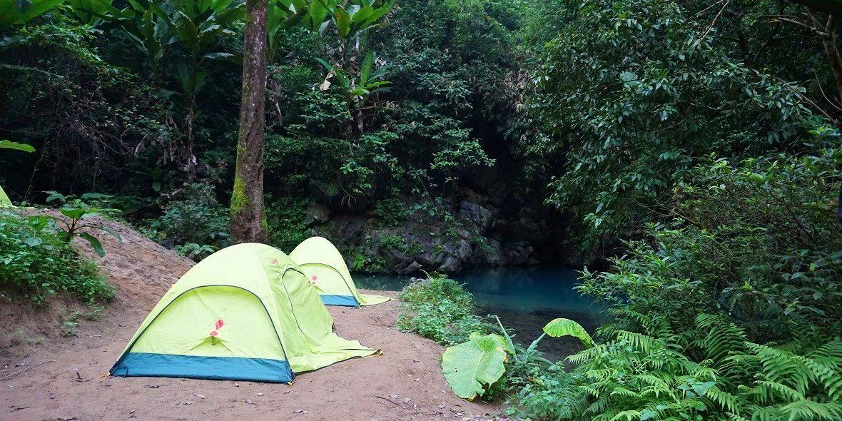 night camping at phong nha ke bang